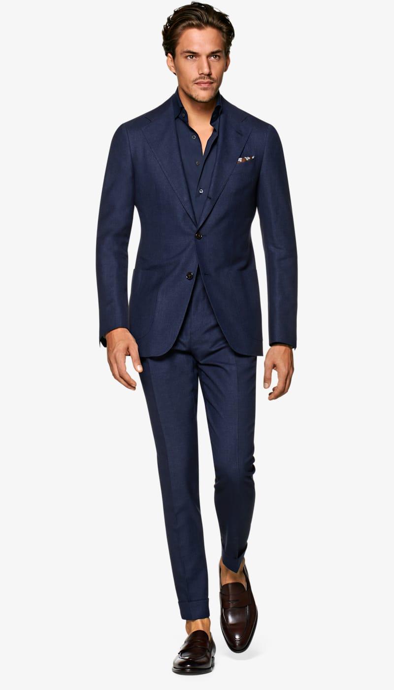 Suit_Navy_Plain_Havana_P6074I