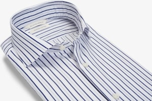 Navy_Stripe_Twill_Shirt_Single_Cuff_H6052U