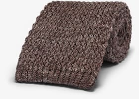 Brown_Knitted_Tie_D201001