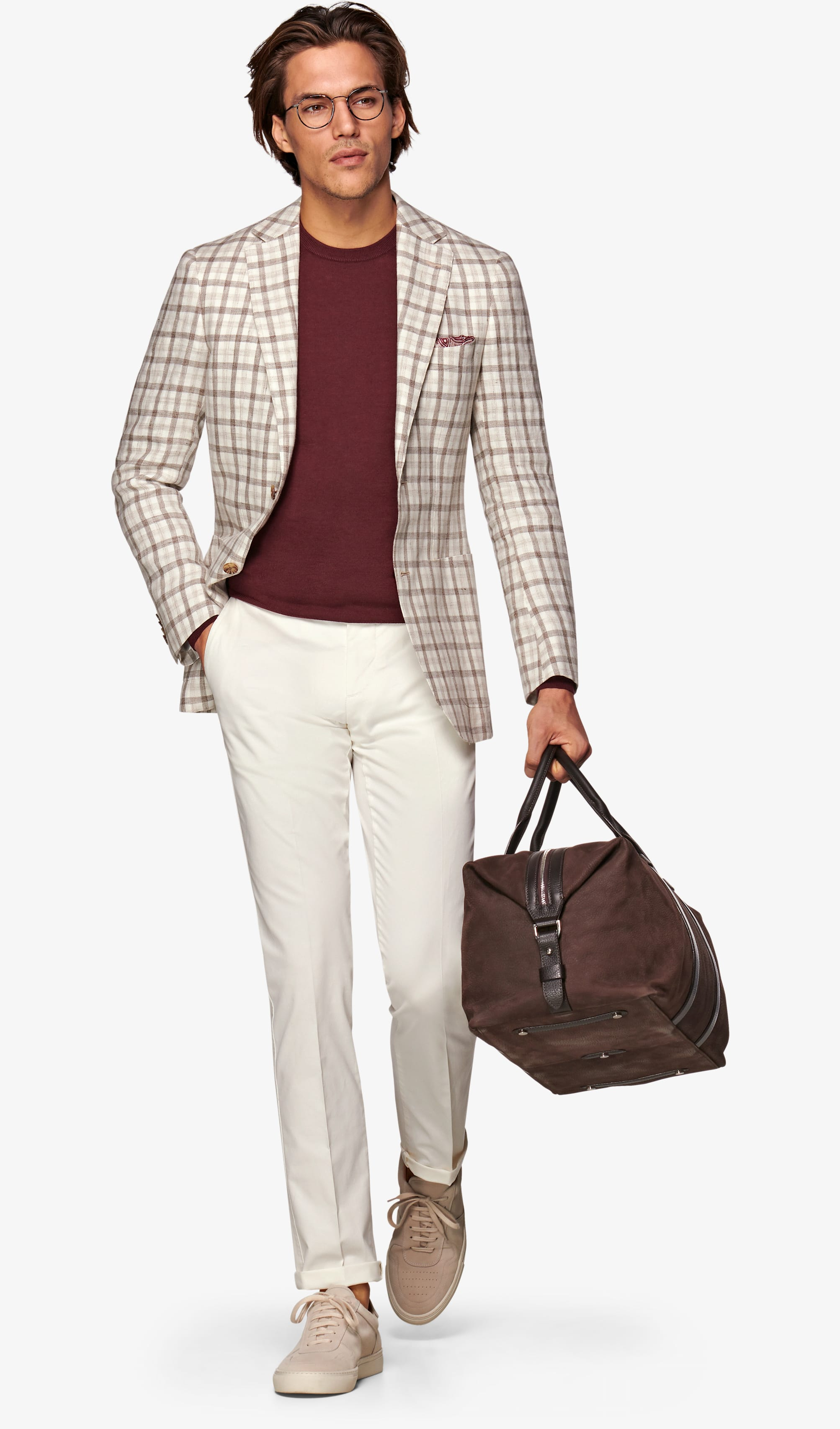 Jacket_Brown_Check_Havana_C1215I