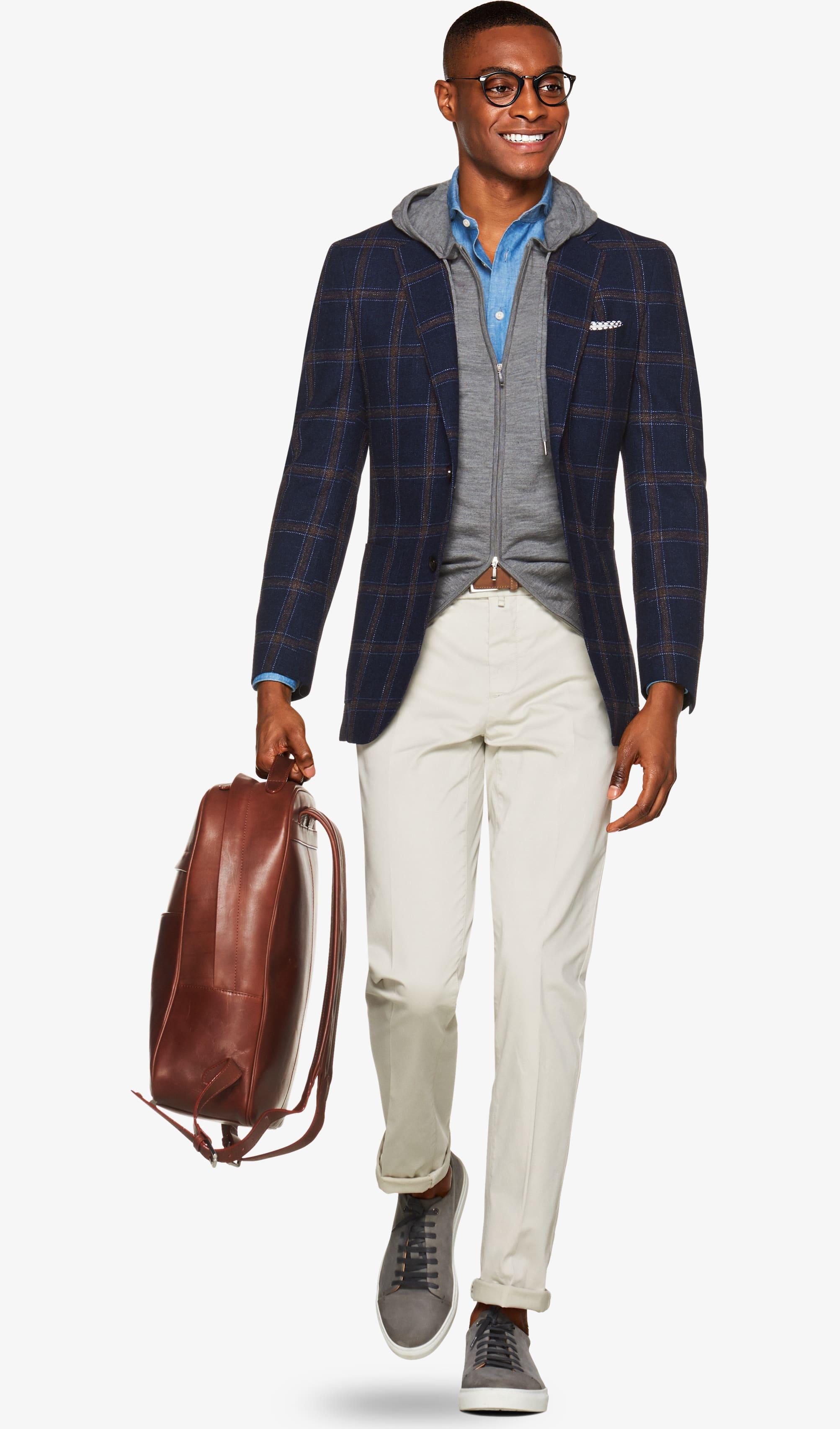 Jacket_Blue_Check_Havana_C1233