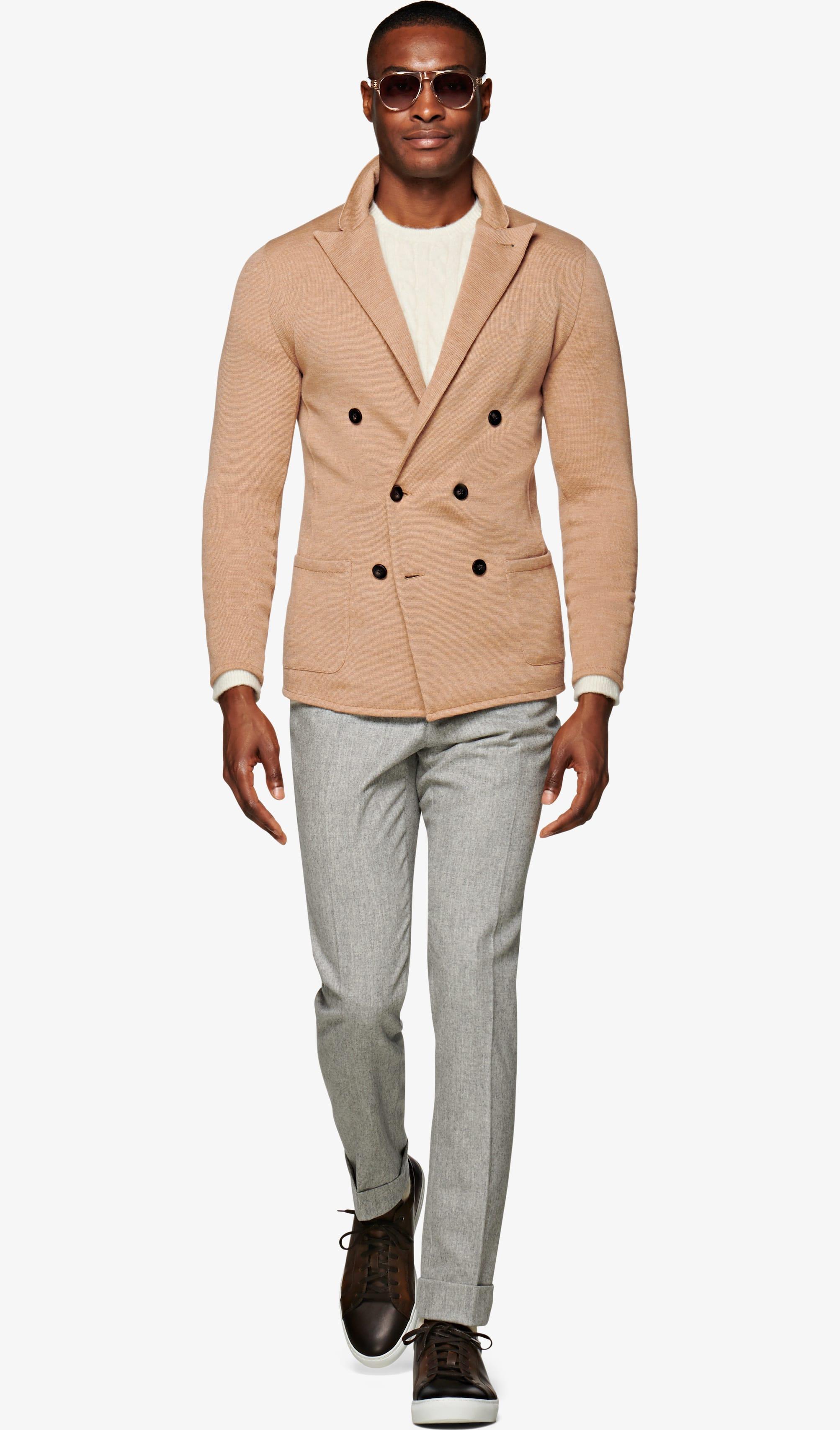 Jacket_Camel_Plain_Havana_C1265I