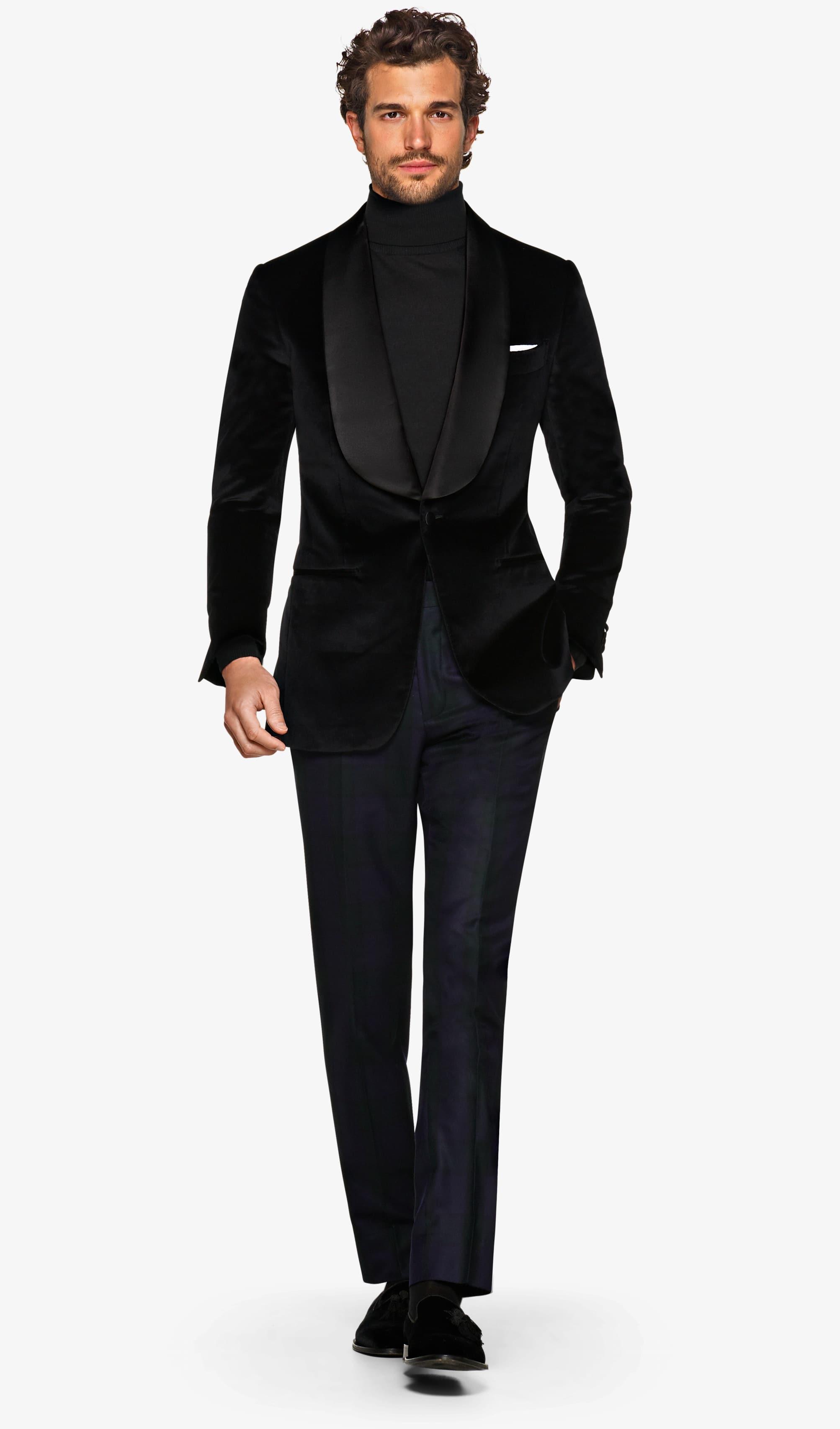 Jacket_Black_Plain_Washington_Shawl_Tuxedo_C1292I
