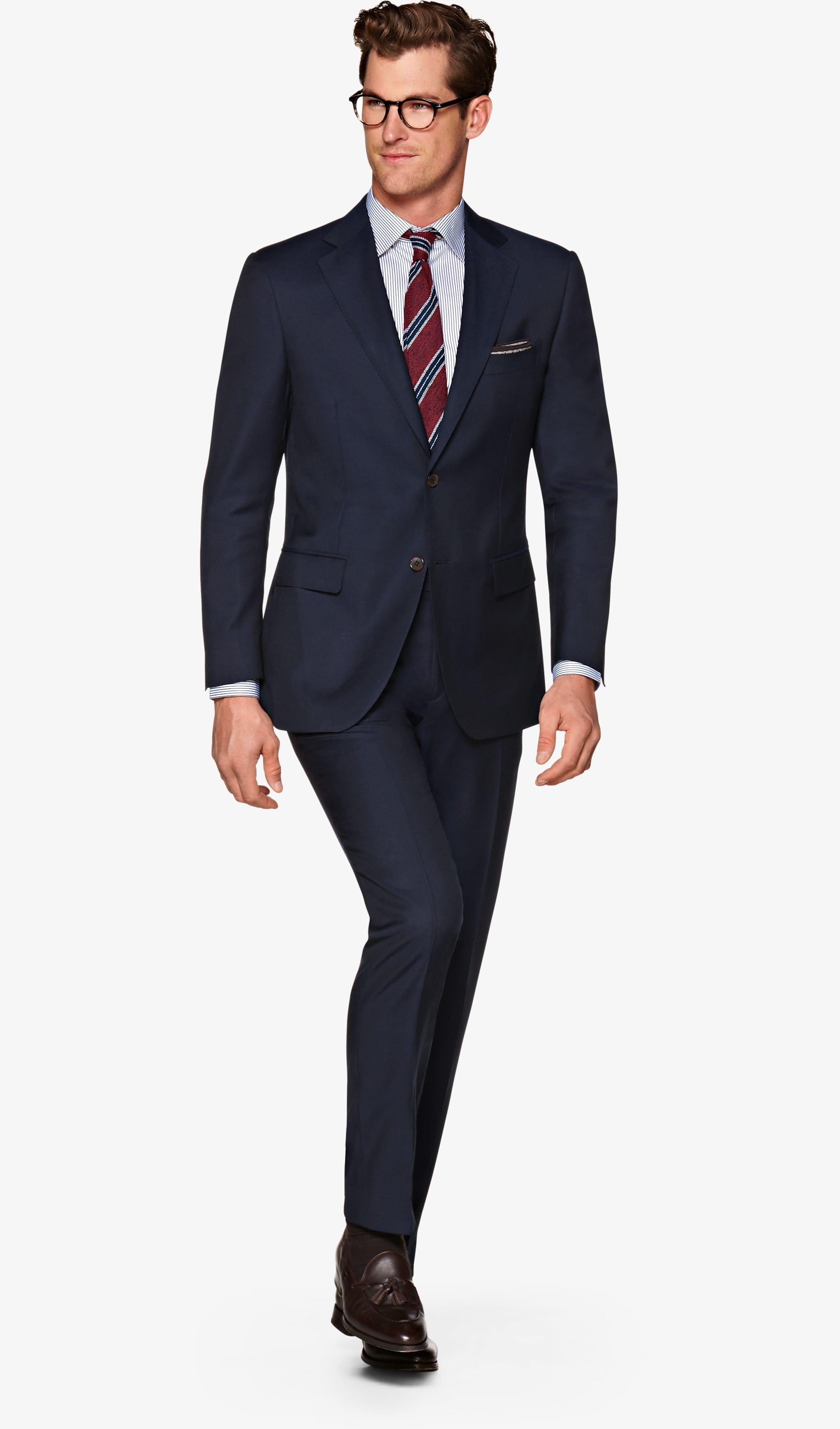 Suit_Navy_Plain_Lazio_P5538I