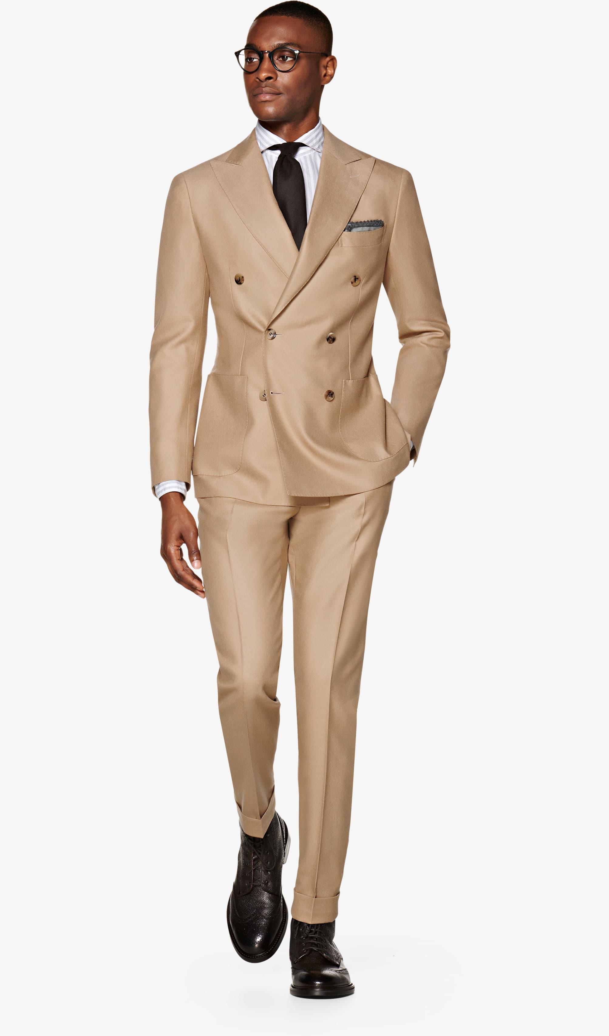 Suit_Light_Brown_Plain_Havana_P5557I