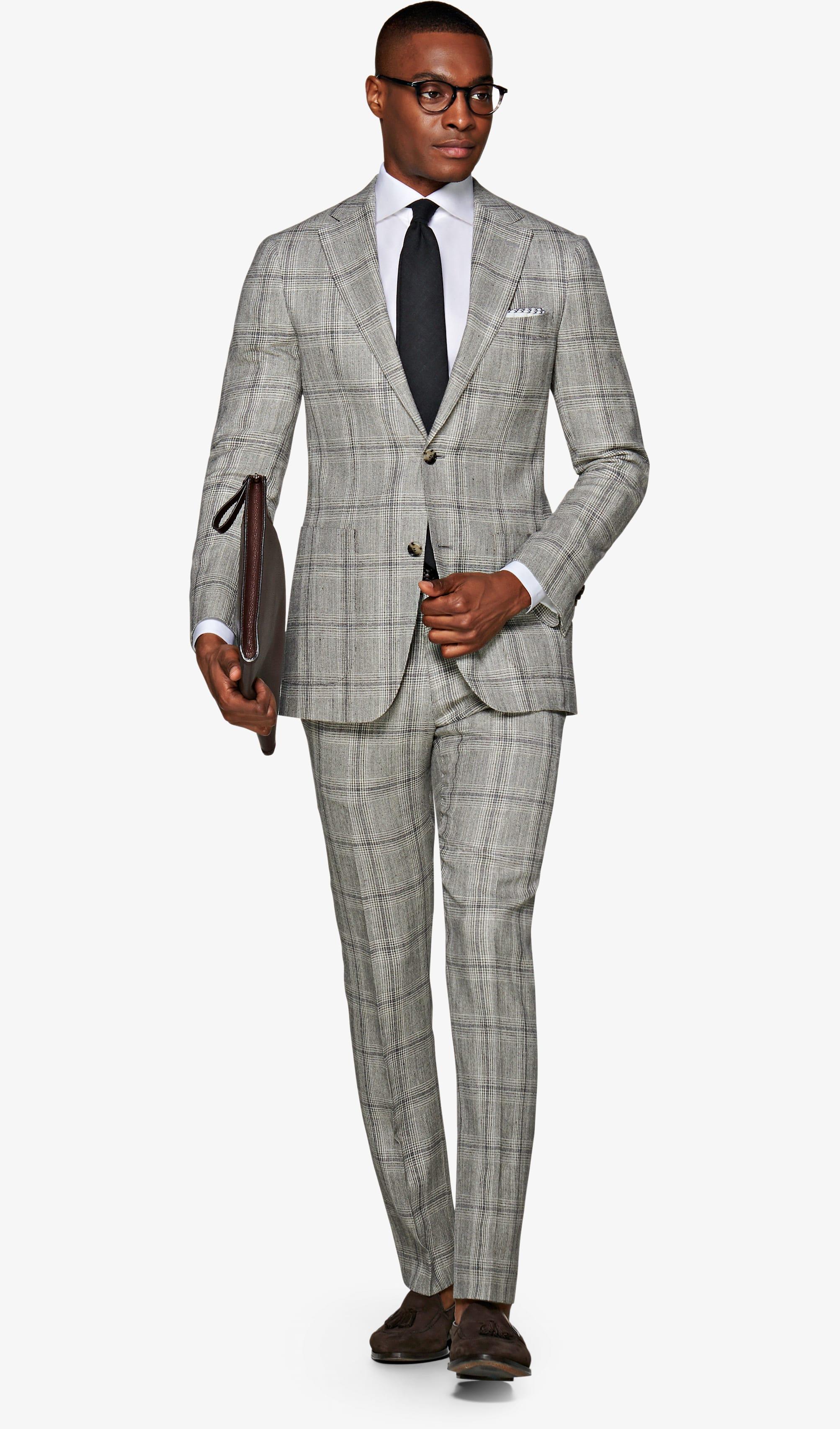Suit_Light_Grey_Check_Havana_P5733I
