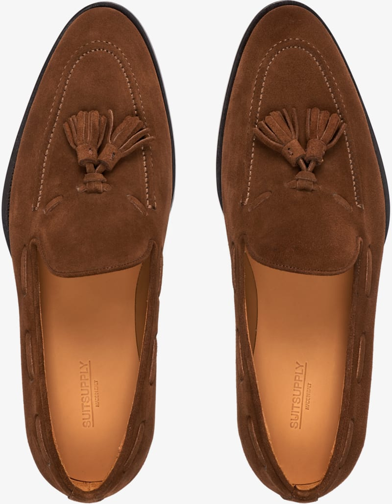 Suit Supply Tassel Loafers