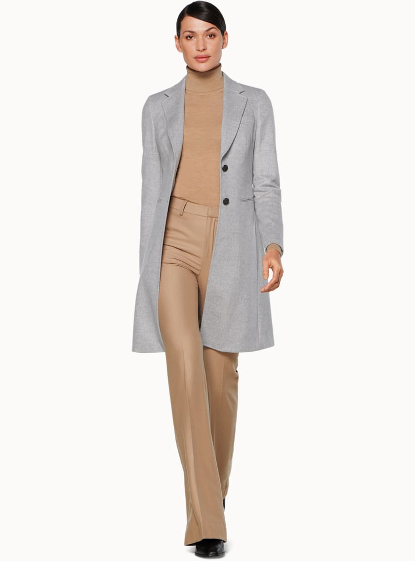Lauren Light Grey  Coat