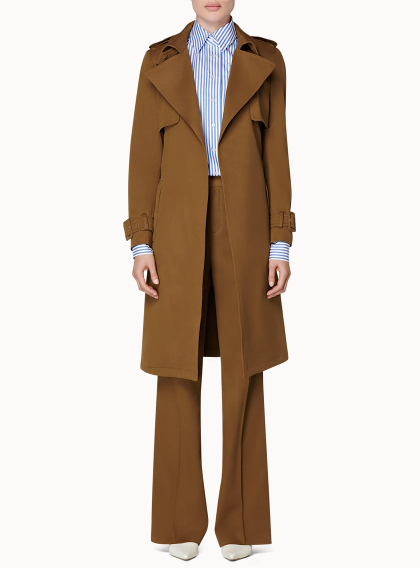Dwight Tobacco  Trench Coat