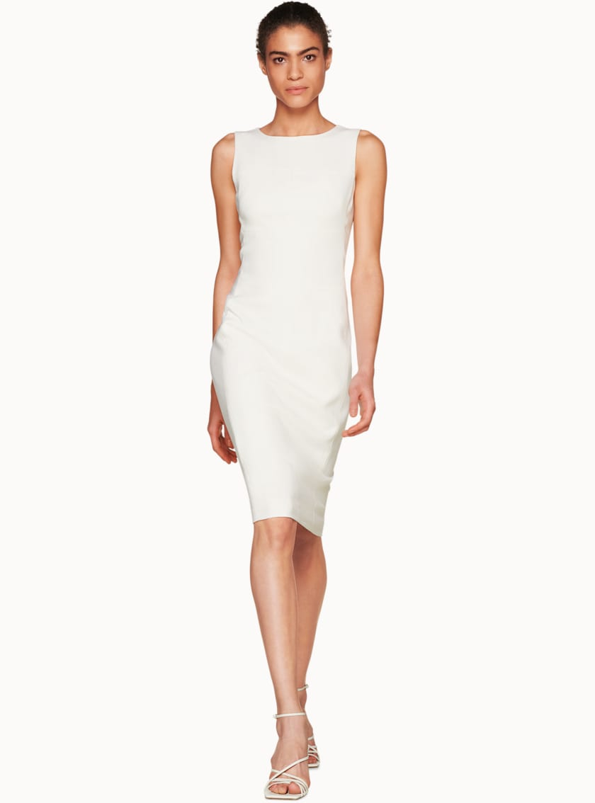 Copal Off White  Bodycon Dress