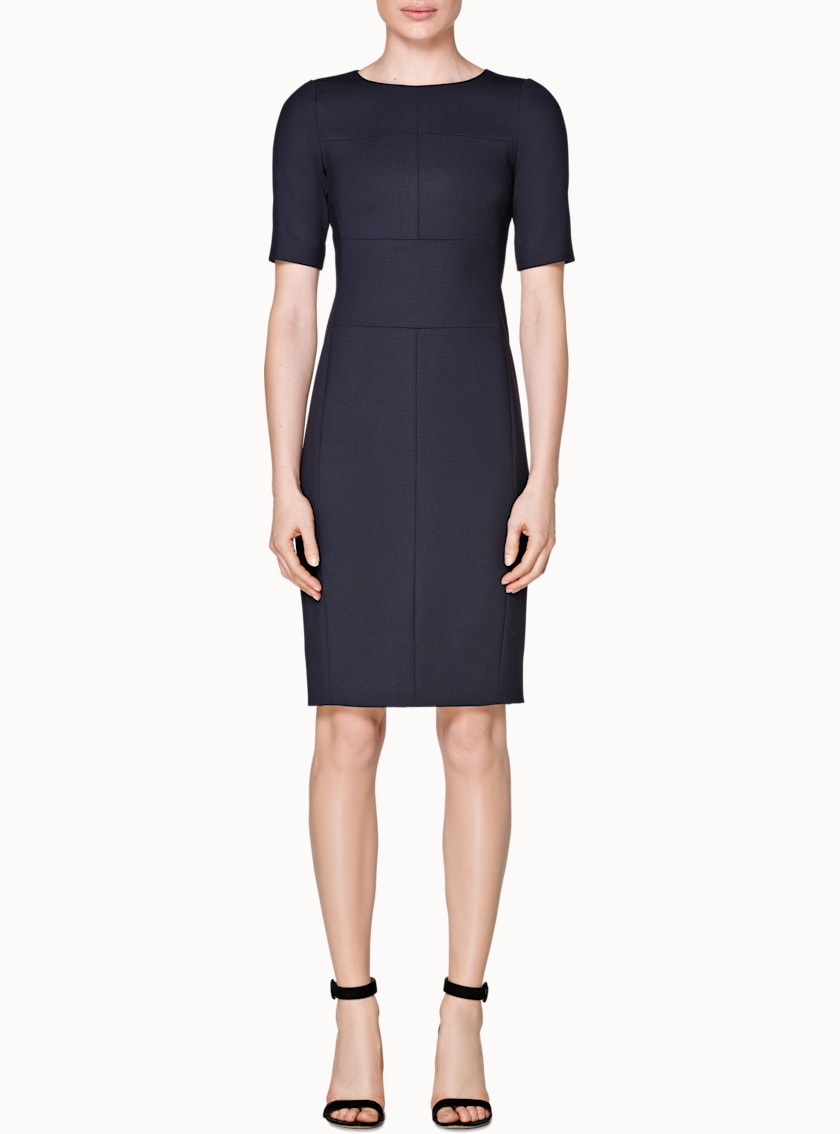 Abril Navy  Bodycon Dress