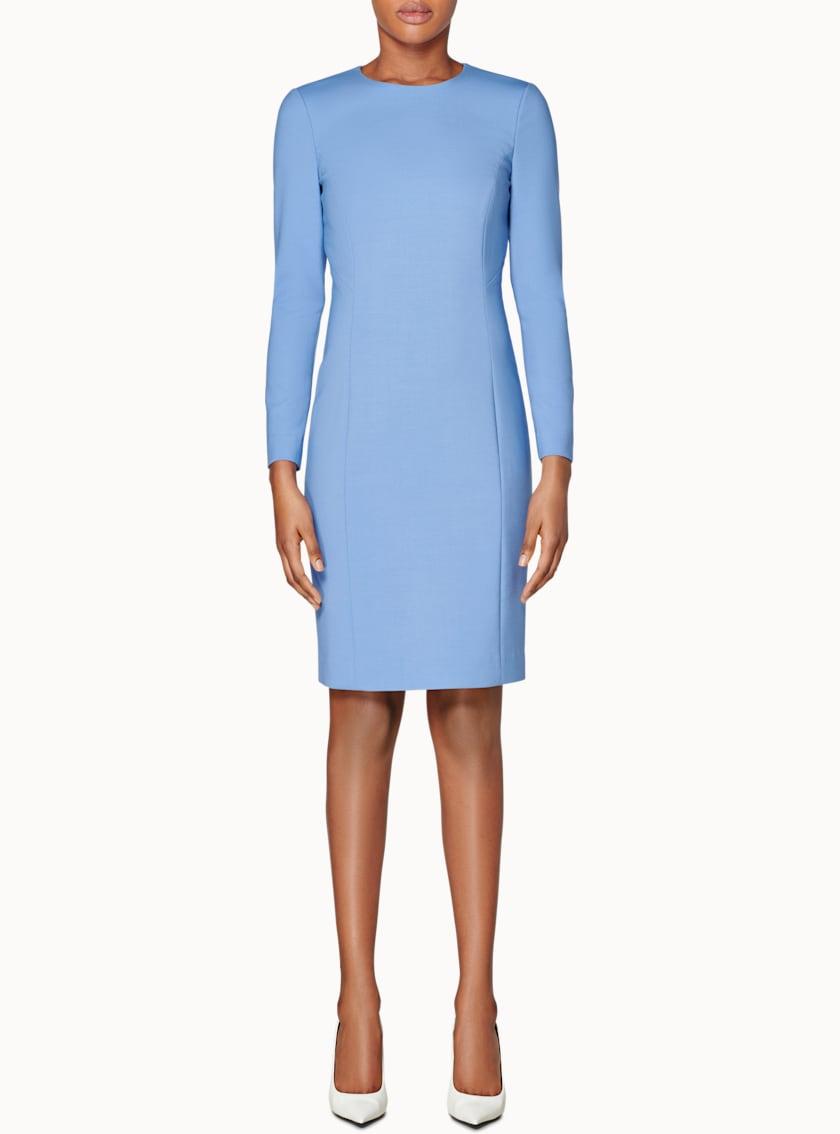 Carly Light Blue  Bodycon Dress