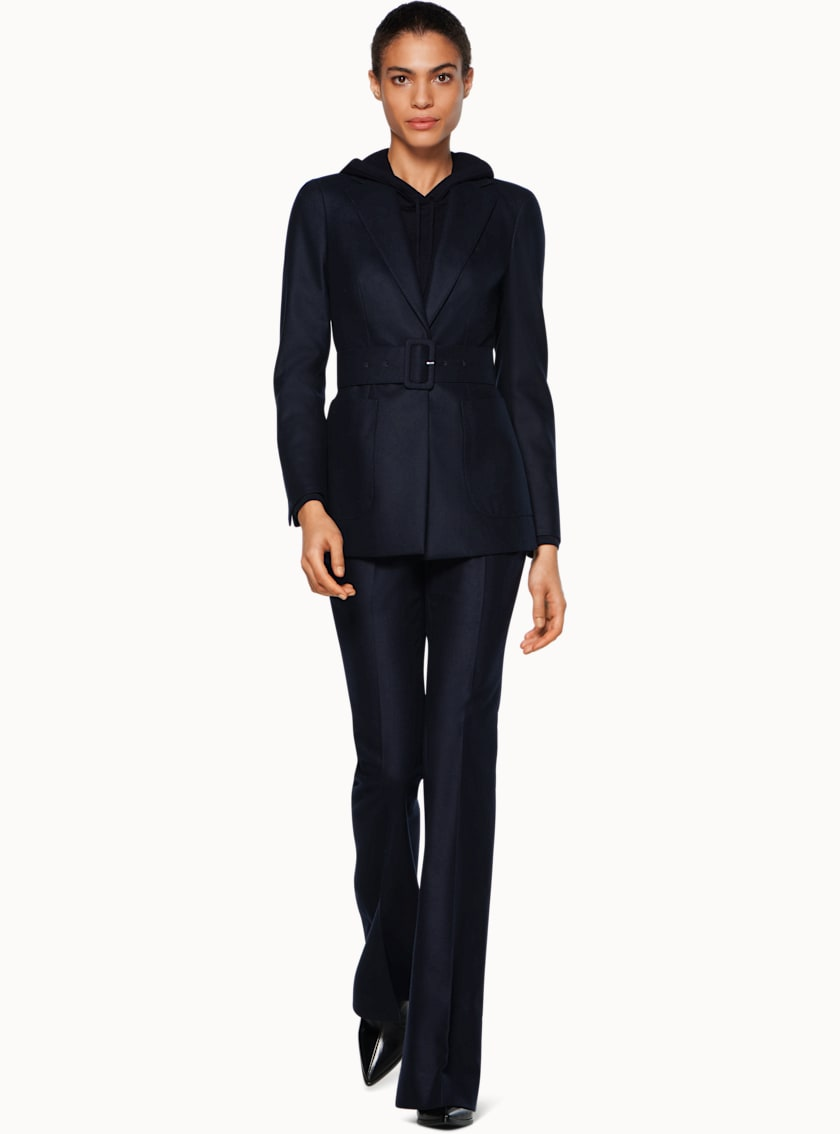 Cameron Navy Belted Suit