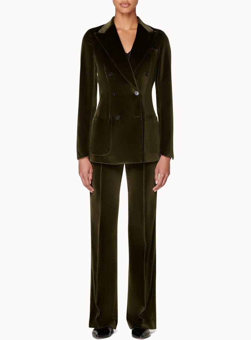 Joss Green Velvet Suit