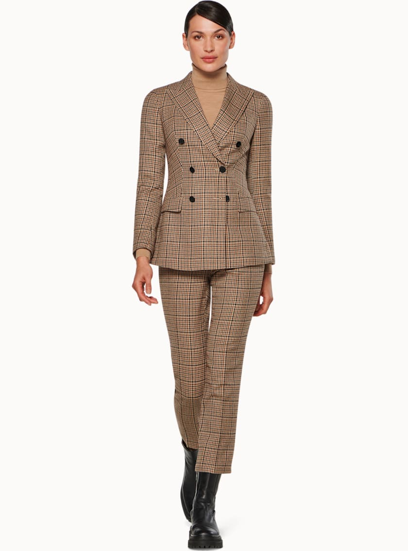 Cameron Brown Houndstooth Suit
