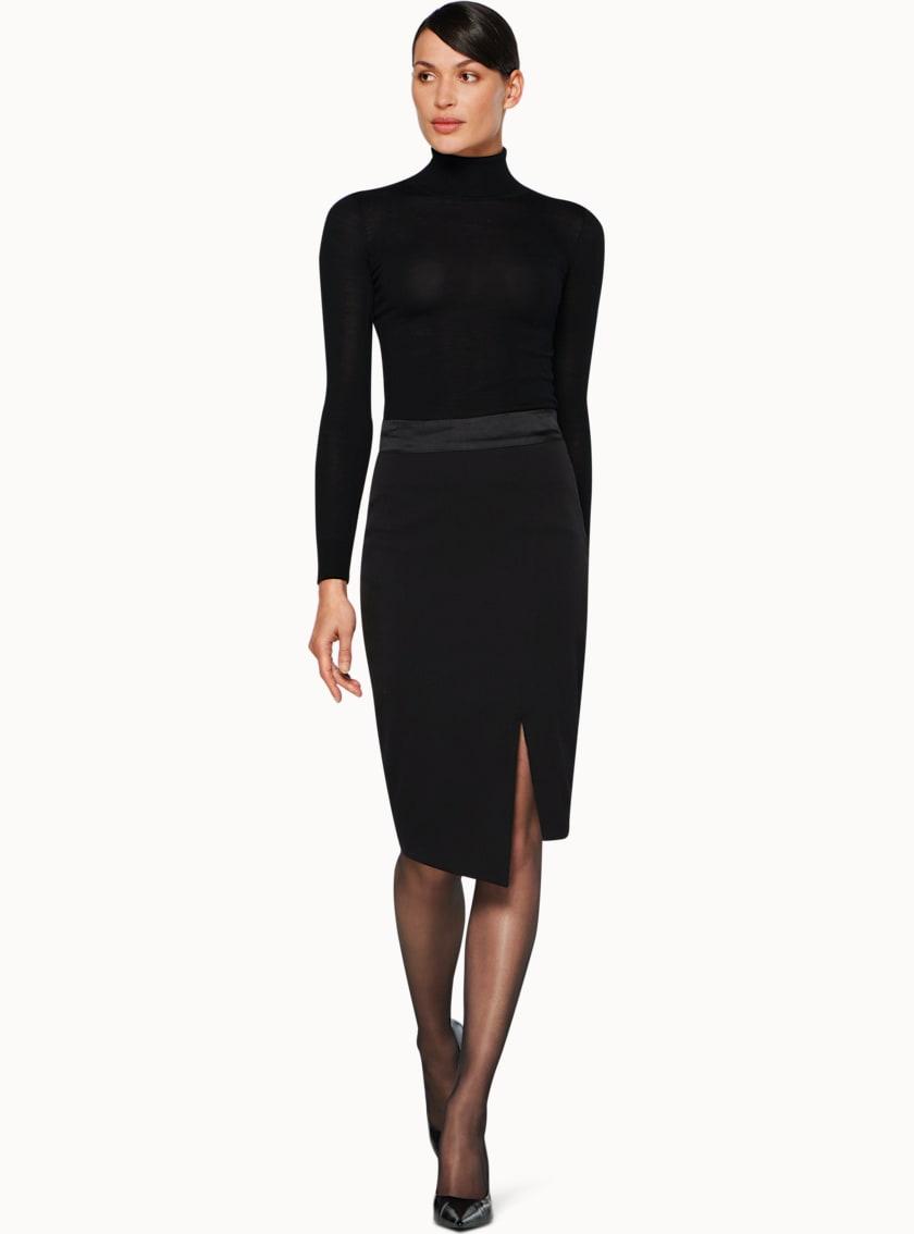 Addison Black  Skirt