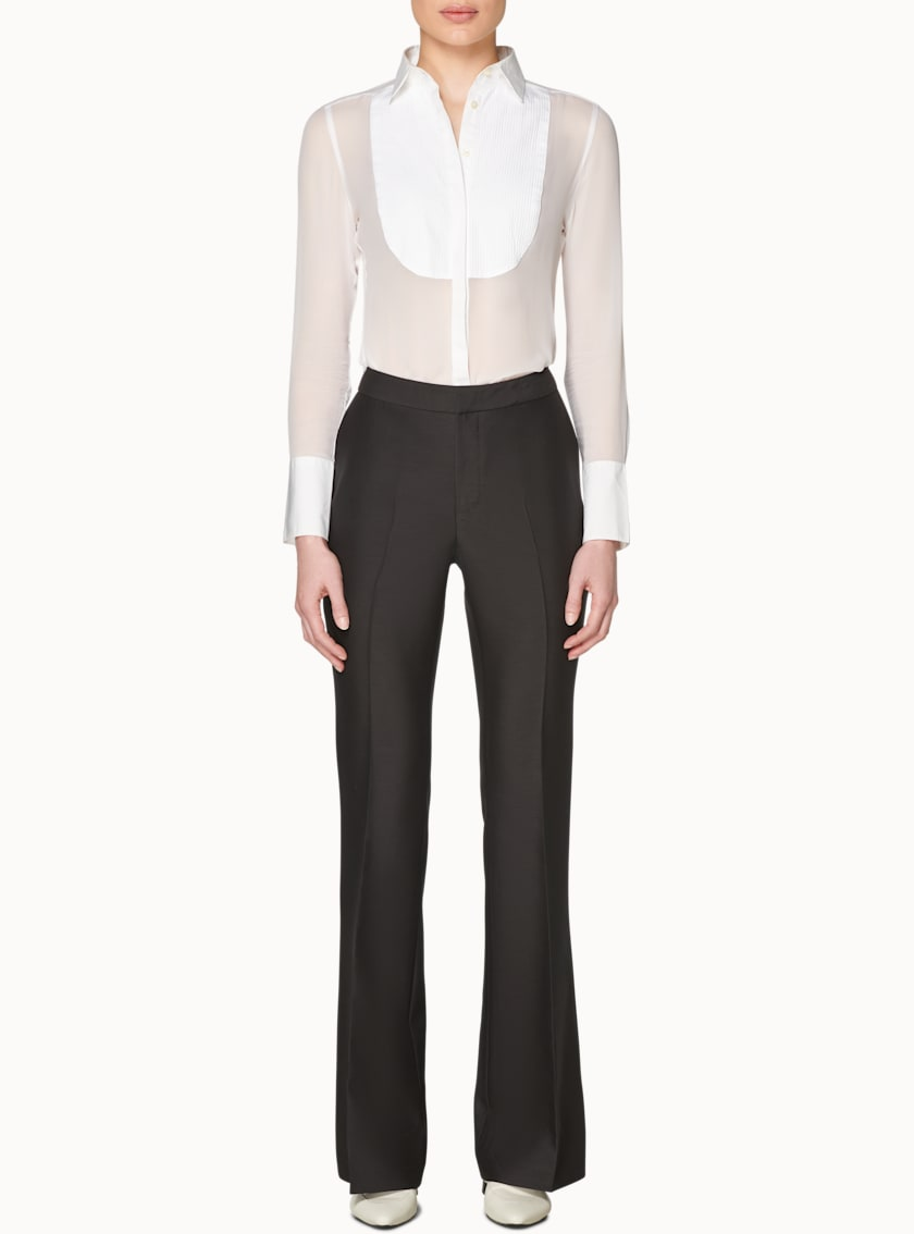 Robin Black  Flared Tux Trousers
