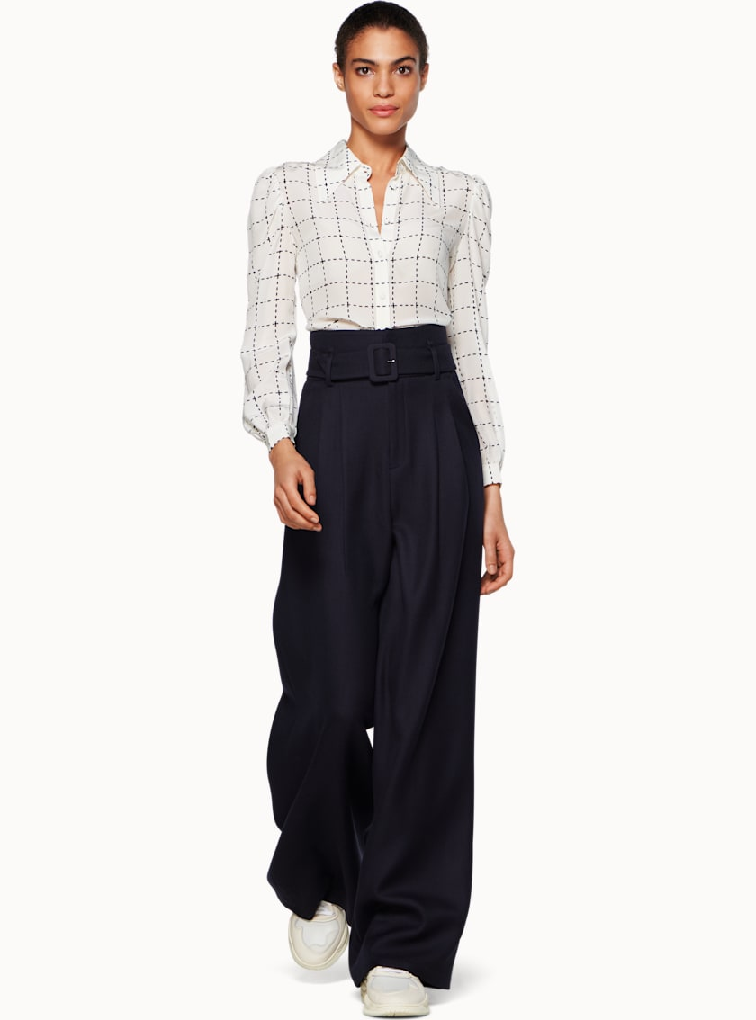 Frankie Navy  Trousers