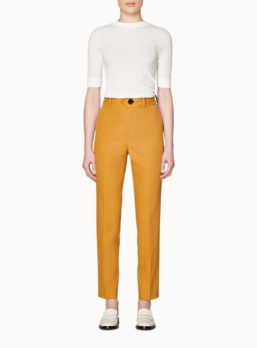 Lana Cognac  Trousers