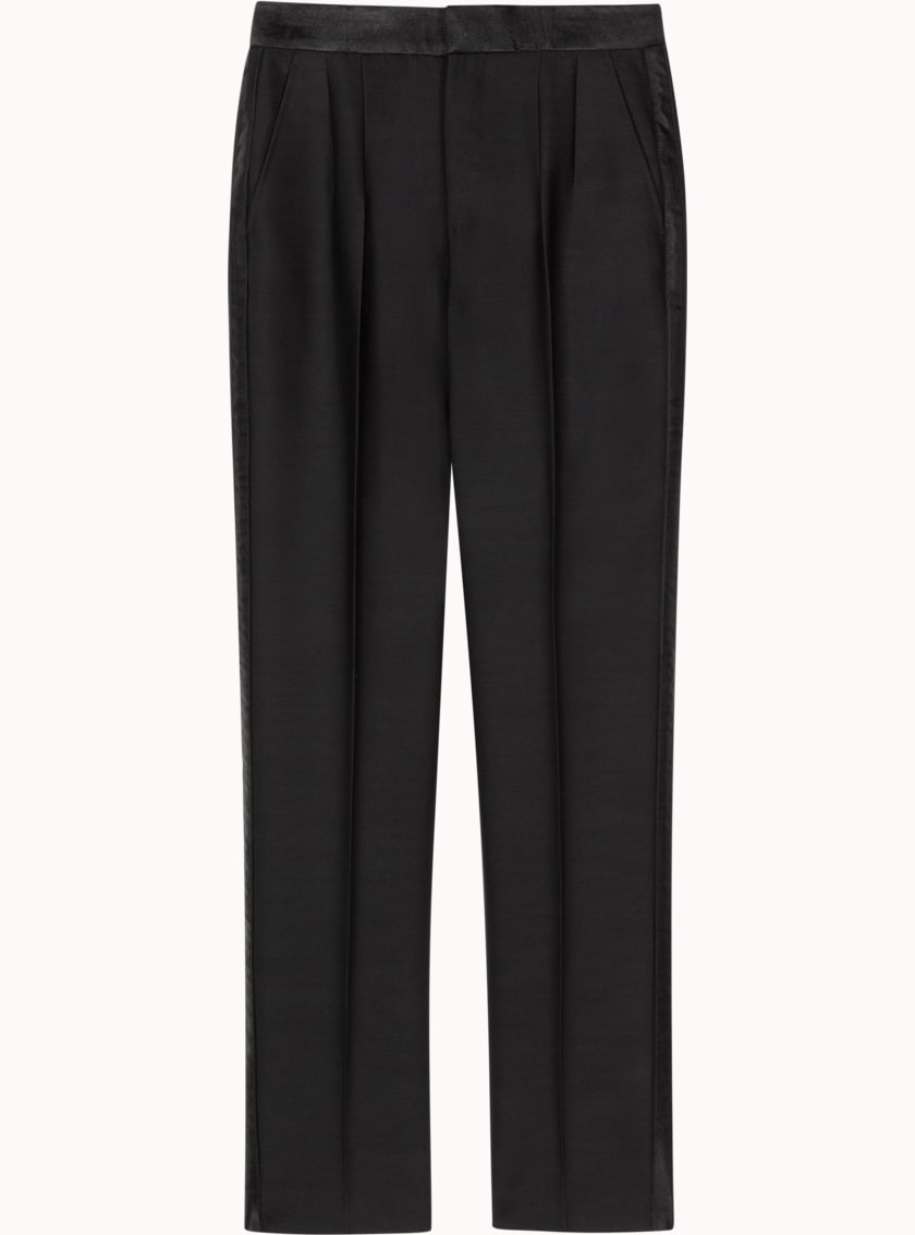 Ice Black  Trousers