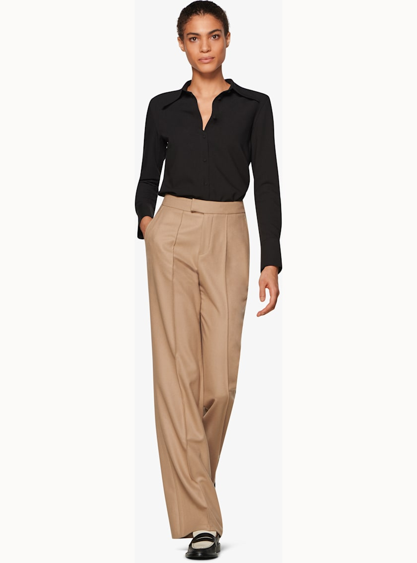 Ally Camel  Trousers