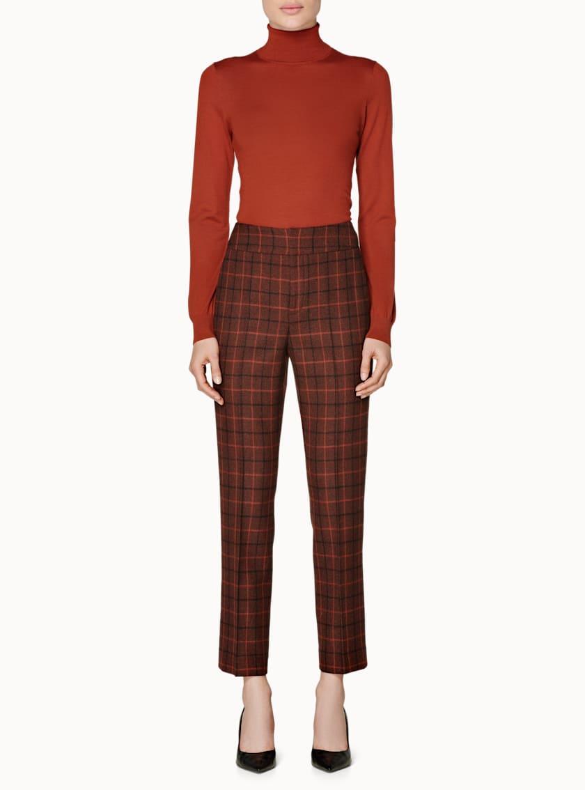Lane Sienna Windowpane Trousers