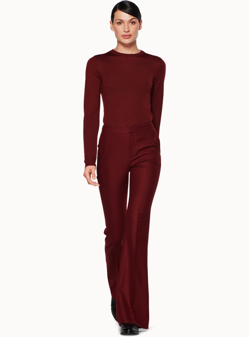 Robin Burgundy  Trousers