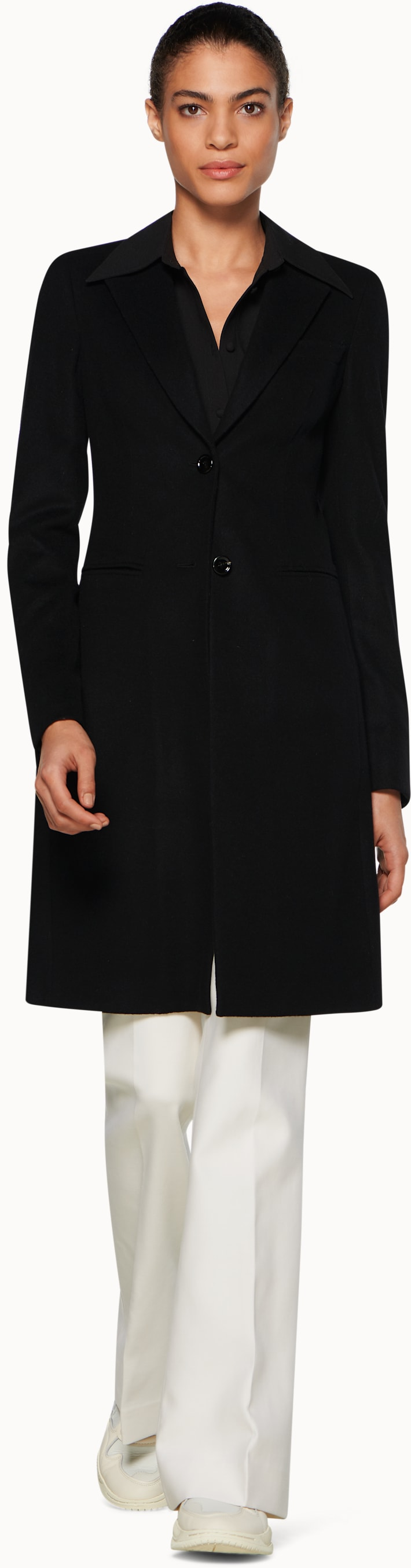Lauren Black  Overcoat