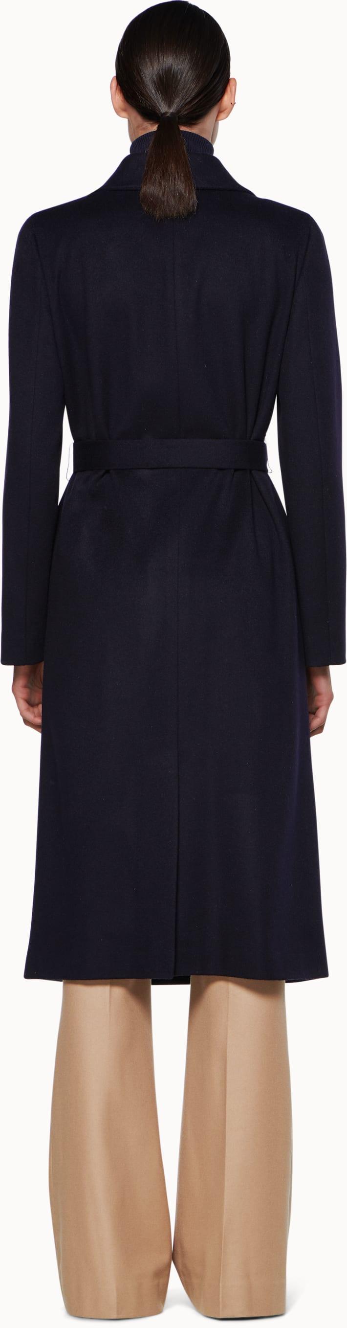 Blake Navy  Overcoat
