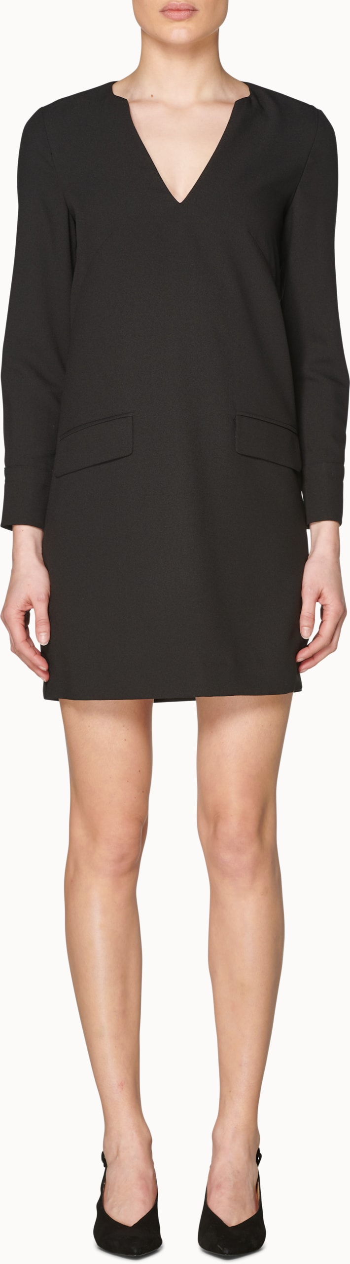 Aggy Black  Dress