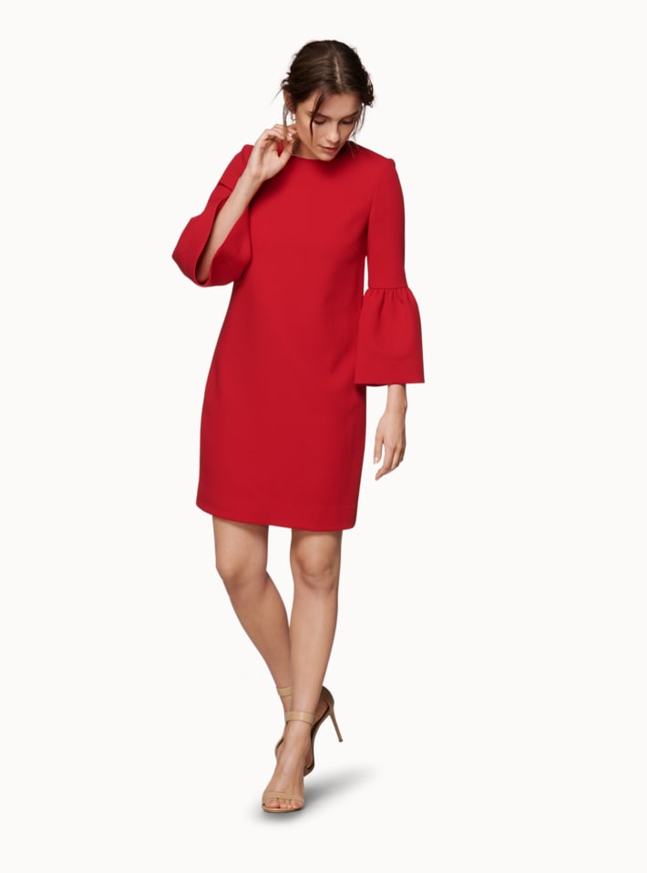 Coby Red  Dress