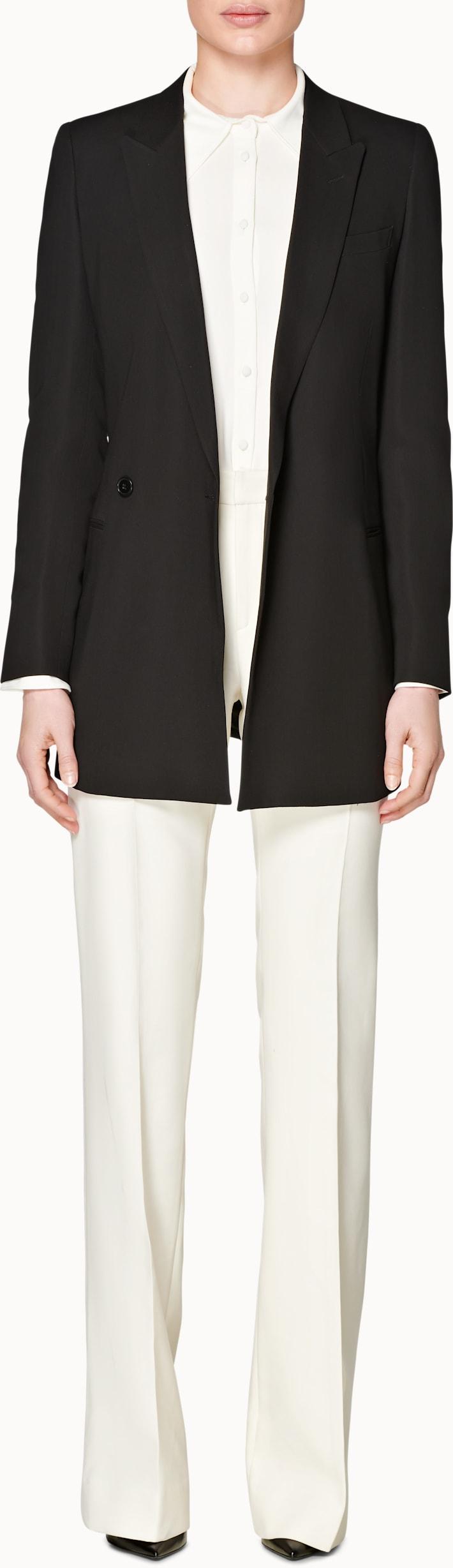 Tory Black  Belted Jacket