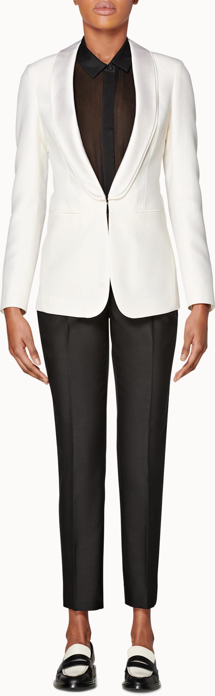 Cameron White Double Shawl Tuxedo