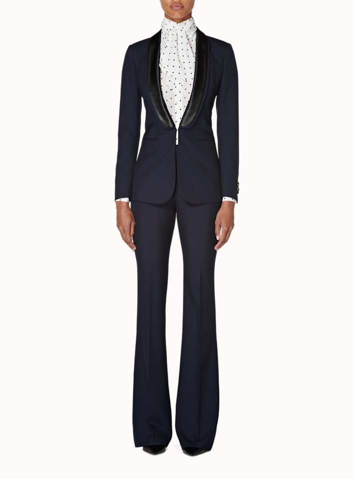 Cameron Navy Double Shawl Tux