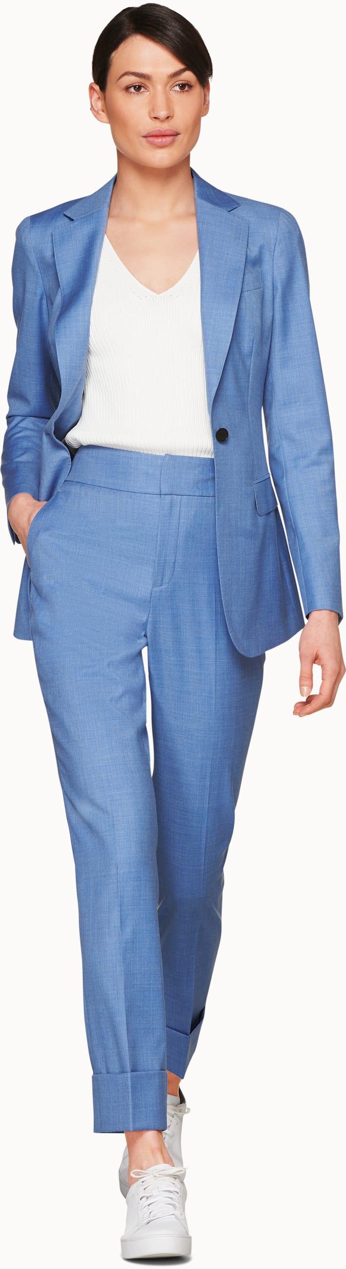 Cameron Light Blue Suit
