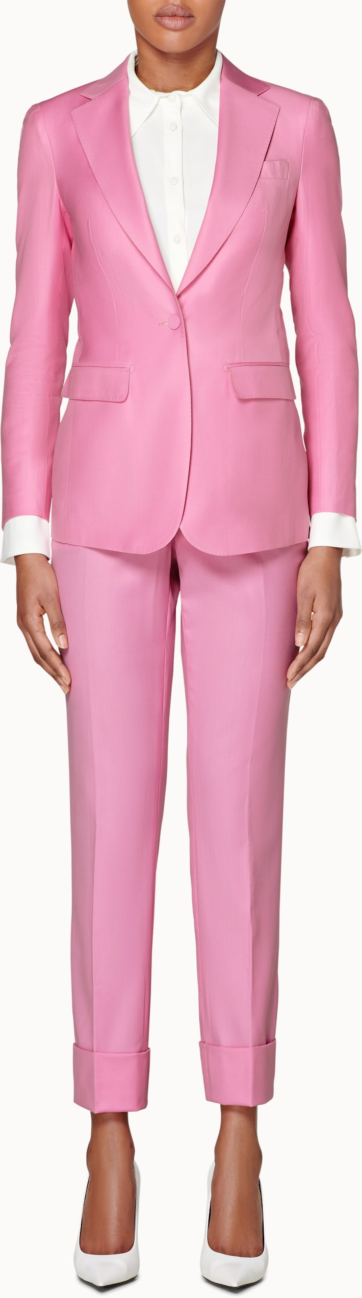 Cameron Pink Suit