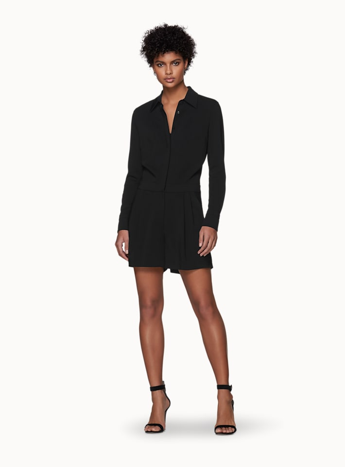 June Black  Playsuit
