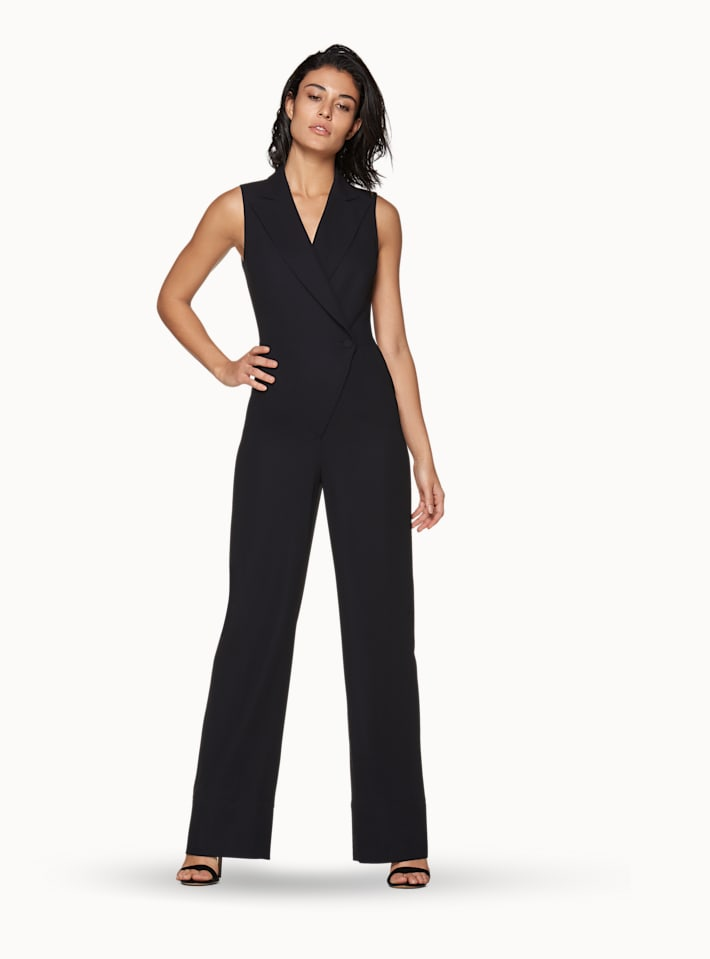 Bri Navy  Jumpsuit