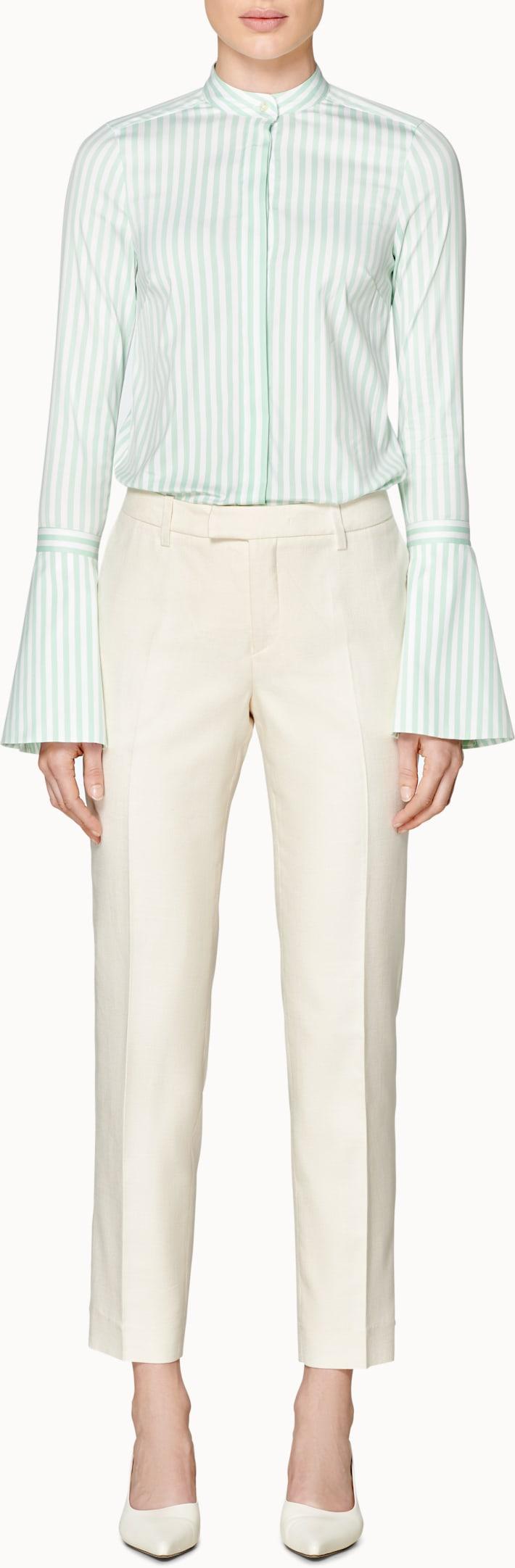 Calypso Mint Striped Shirt
