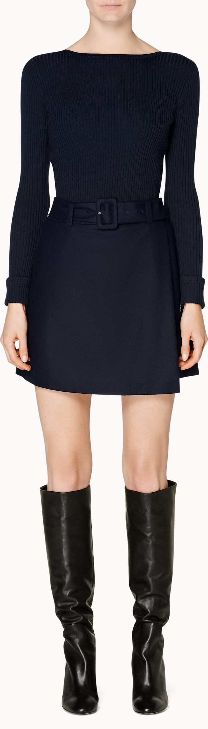 Calvin Navy  Skirt
