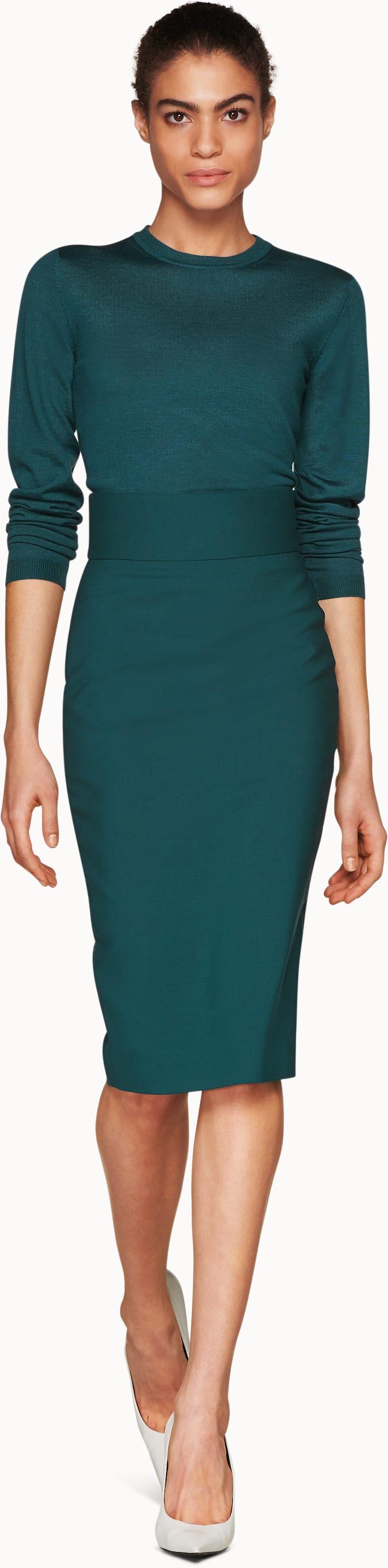 Ariel Teal  Skirt