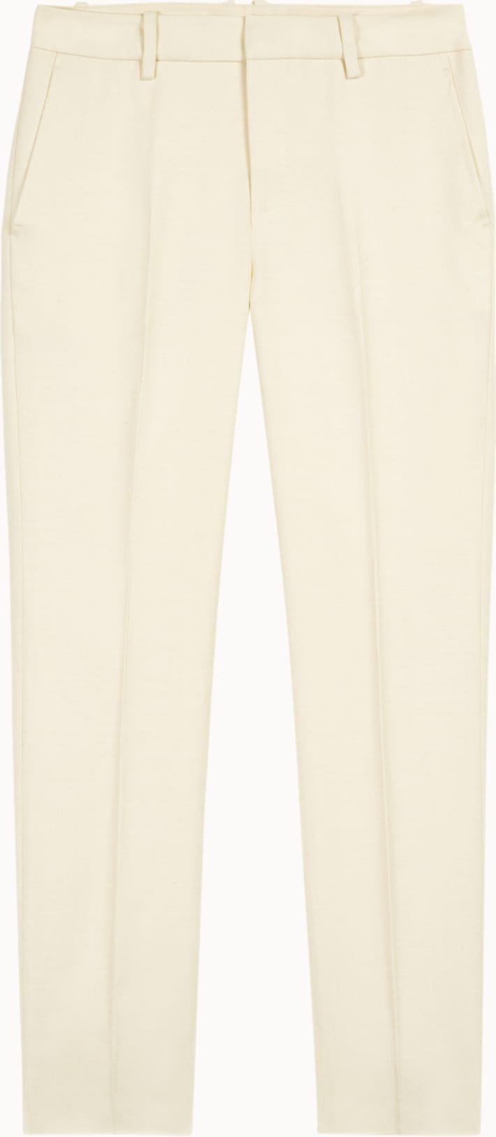 Robin Off White  Trousers