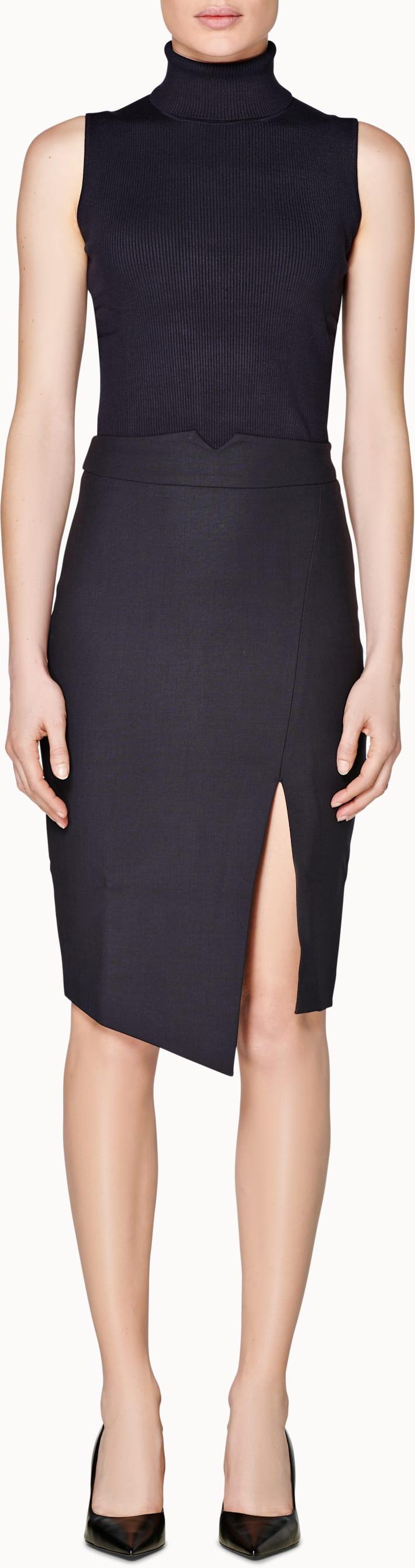 Addison Navy  Skirt
