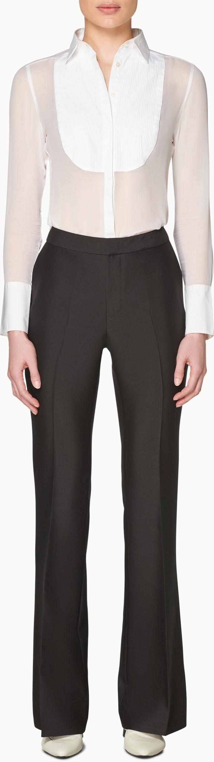 Robin Black  Flared Tux Trousers