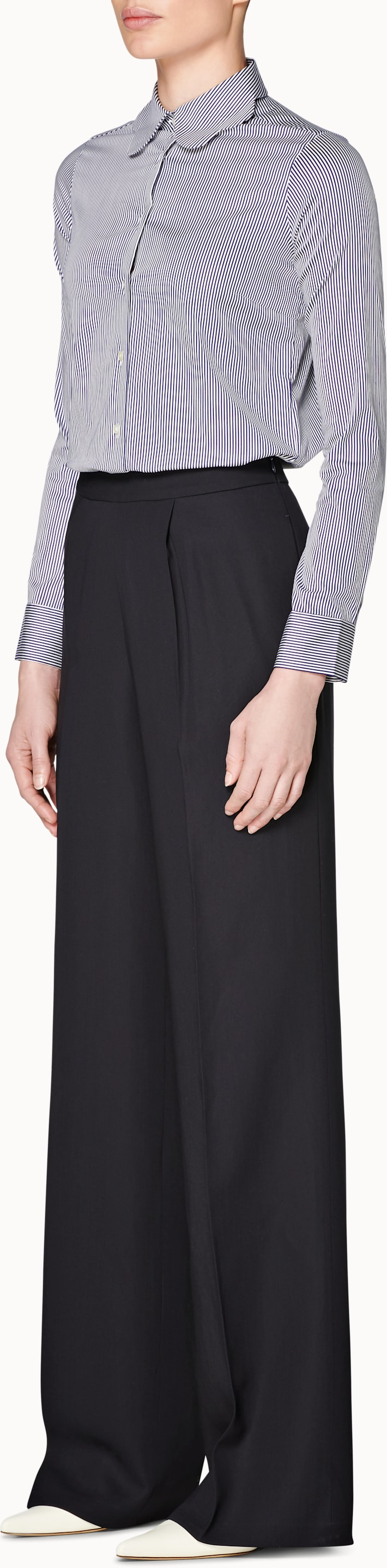 Ally Navy  Trousers