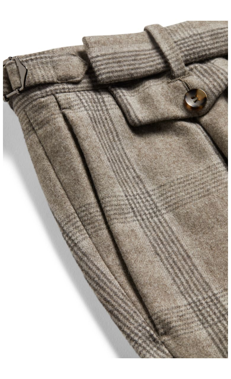 Brown Brentwood Trousers