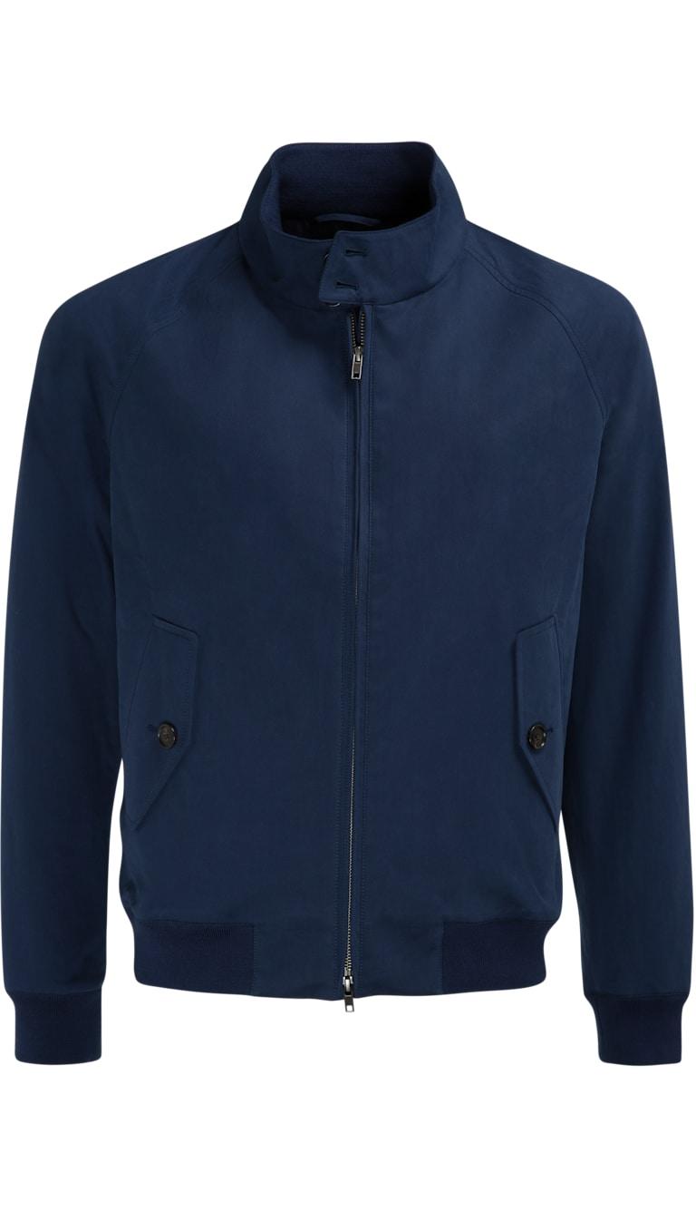 Bien connu Harrington Jacket Bleu Marine Jort J333i | Suitsupply Online Store RI36
