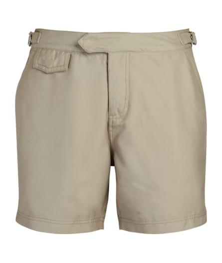 Taupe Swim Shorts