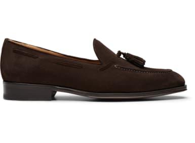 Dark Brown Tassel Loafer