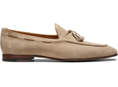 Sand Tassel Loafer
